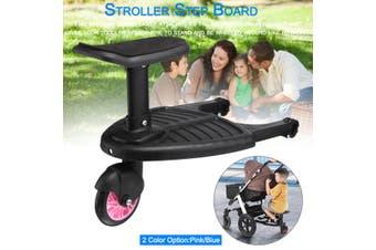 Board Stroller Step Board Stand Connector Toddler/Kids Pink/Blue(pink)