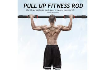 Doorway Pull Up Bar Adjustable Exercise 440LB Sport Fitness Training Home Gym(66-100CM)