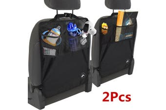 2X Kick Mat For Car Truck Back Seat Cover Kid Care Organizer Protector(2pcs)