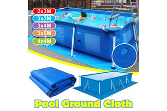 Large Size Swimming Pool Square Ground Cloth Lip Cover Dustproof Floor Cloth Mat(3x4m)