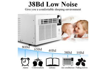 700W Window Wall Box Refrigerated Air Conditioner Portable Cooling Heating Timing USB Dehumidification