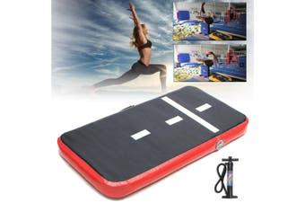 60X120CM Air Track Inflatable Gymnastics Tumbling Mat Track Launch Pad GYM +Pump
