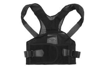 Back Posture Correction Belt(black)(XL)