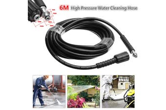 6M High Pressure Washer Water Drain Sewer Cleaning Hose M22 & Clip Type For Karcher K2 K3 K4 K5