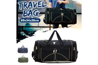Men Women Duffle Weekender Bag Sports Gym Bag Fitness Travel Shoulder Handbag Luggage(black)(Type 3)