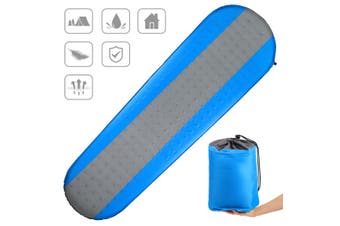CAMTOA SelfInflating Sleeping Pad, inflatable Camping Mat -Lightweight & Compact Foam Padding/Waterproof - Ideal for Camping Hiking Backpacking(blue)(Sleep Pad)