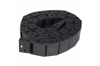 1 Meter Plastic Open Type Wire Carrier Drag Chain Towline Nested 18mm x 37mm R38