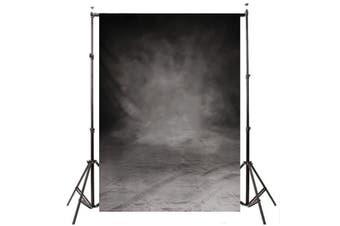 5x10FT Large Retro Grey Black Wall Studio Photo Photography Backdrop Background(300cm by 150cm)