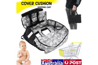Baby Shopping Trolley Cart Seat Mat Cushion Highchair Cover Polyester Comfort