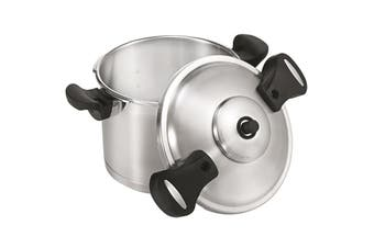 Scanpan Stainless Steel Pressure Cooker with Side Handles 22cm 6L