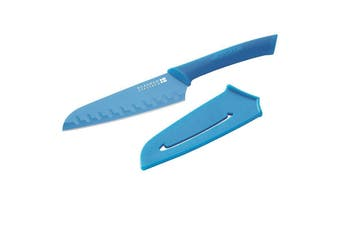 SCANPAN Spectrum Blue Santoku Knife 14cm