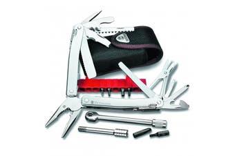 Victorinox SwissTool Spirit XC Plus Ratchet - Swiss Army Knife with Nylon Pouch| 3.0239.N