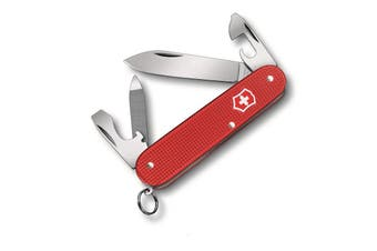 Victorinox Cadet Alox Limited Edition Berry Red Swiss Army Pocket Knife | 9 Functions