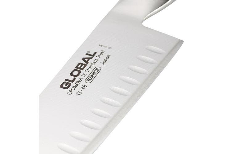 Global Knives Santoku Fluted Blade 18cm