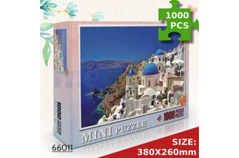 Jigsaw Puzzles 1000 Piece Aegean Sea for Adult Kids Puzzle Home Decor Toy Game