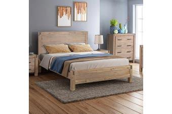 Java Single Bed Oak