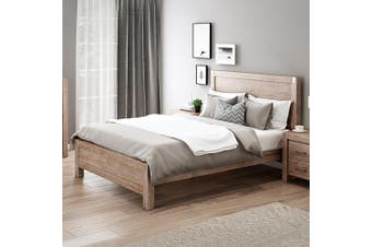 Nowra Double Bed Oak
