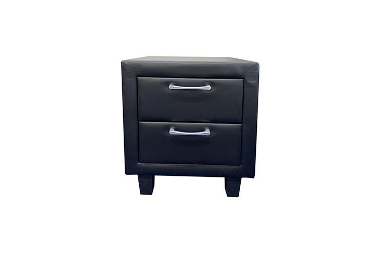 Albany Bedside Table Black
