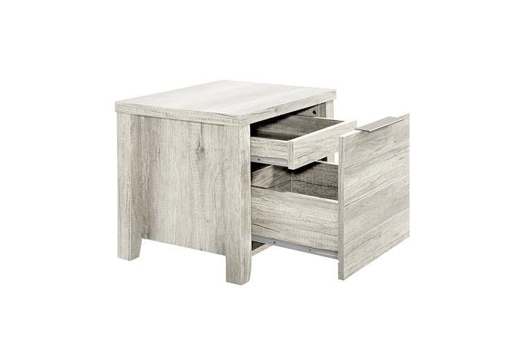 Alice Bedside table White Ash