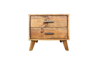 Cob&Co Bedside Table Rustic Colour