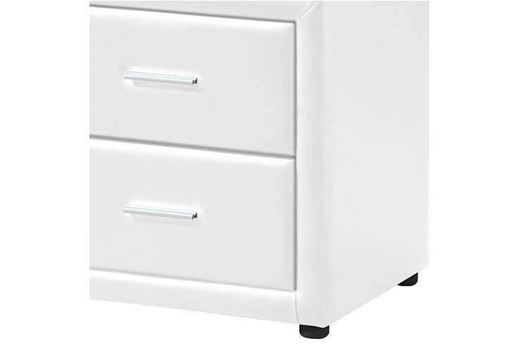 Soho Bedside Table White