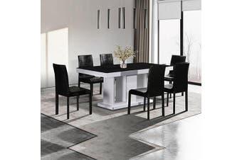 Espresso 7 pcs Dining Suite