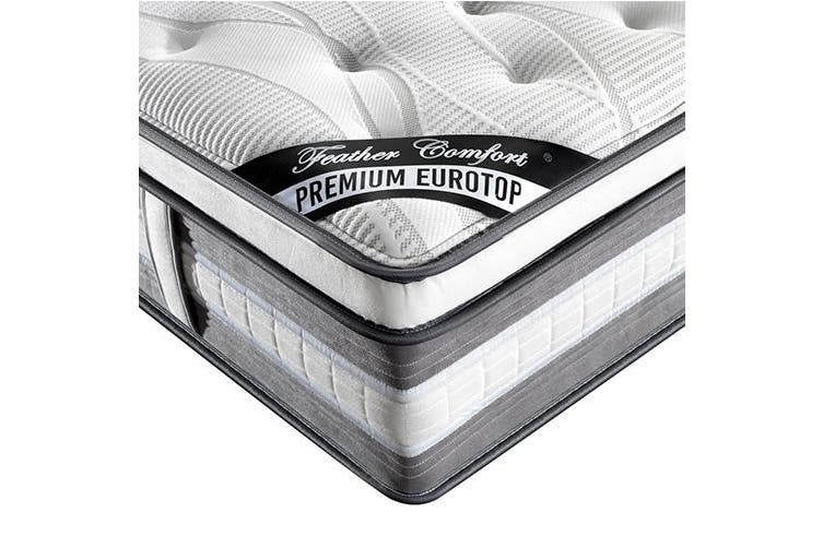 Queen Mattress Knitted Fabric Foam Quilting Pocket Spring Premium Euro Top