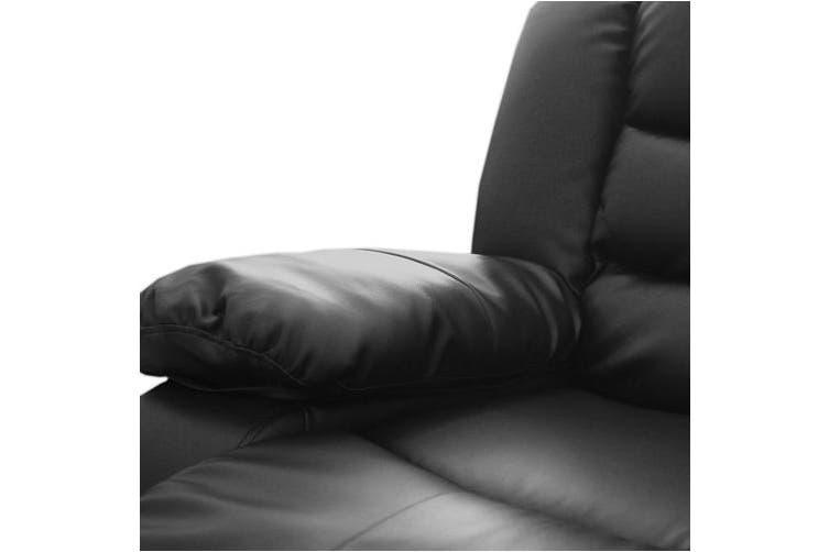 Dream Recliner Bonded Leather -1R -BLACK