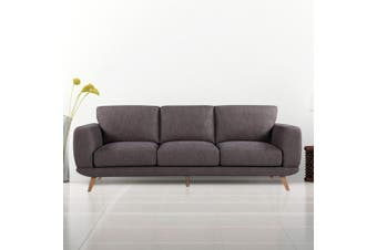 Alaska Sofa 3 Seater Brown