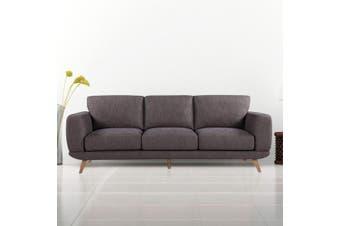 Alaska Sofa 3 Seater Brown