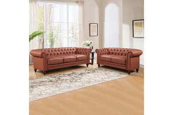 Madeline 3+2 Seater Brown