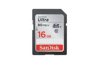 SanDisk 16 GB 16G SDHC 80mb/s Class 10 Memory Card FULL HD Video Cameras DSLR