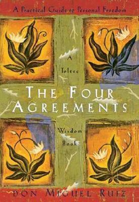 """The Four Agreements In The Four Agreements, don Miguel Ruiz reveals  the source of self-limiting beliefs that rob us of joy and create needless suffering. Based on ancient Toltec wisdom, the Four Agreements offer a powerful code of conduct that can  rapidly transform our lives to a new experience of freedom,  true happiness, and love. This 2-CD set blends new insights  with old wisdom.  Author Biography  Don Miguel Ruiz is the bestselling author of The Four Agreements (a New York Times bestseller for over a decade), The Four Agreements Companion Book, The Mastery of Love, The Voice of Knowledge, The Circle of Fire, and The Fifth Agreement. The teachings of Ruiz are best known for transforming complex human issues into simple common sense – a talent that has earned him millions of fans and international acclaim.  Janet Mills is the founder and president of Amber-Allen Publishing and co-author, with don Miguel Ruiz, of six books in The Toltec Wisdom Series. Mills is also the creator of """"The Four Agreements for a Better Life"""" online course, editor of Deepak Chopra's bestselling title, The Seven Spiritual Laws of Success, and publisher of the world-renowned """"Seth Books"""" by Jane Roberts."""