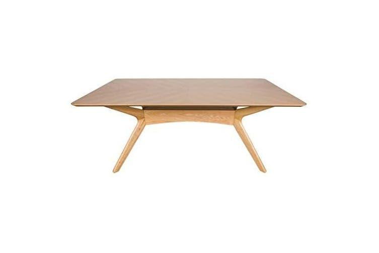 Ascot Dining Table 1 8m Oak Matt Blatt