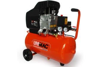 UNIMAC Air Compressor 25L 2.5HP Electric Portable Inflator Direct Tank Pump Oil