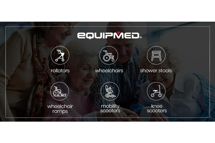 EQUIPMED Mobility Scooter For Elderly Motorized Riding Electric Older Adults 4