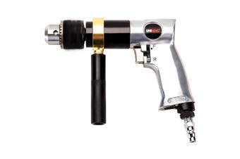 UNIMAC Air Drill 3/8 Inch Reversible Air Compressor Power Pistol Hand Tool