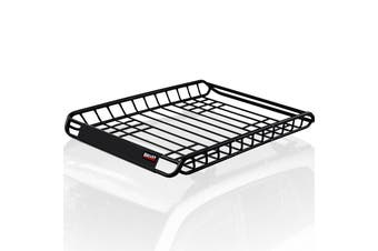 BULLET Universal Roof Rack Basket - Car Luggage Carrier Steel Cage Vehicle Cargo