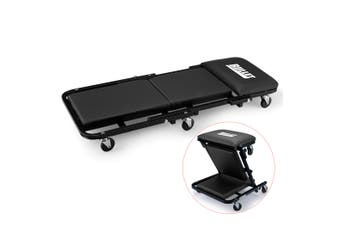 BULLET Folding Creeper Mechanics Stool Seat Trolley Garage Workshop Mechanic
