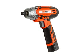 UNIMAC 1/2 Inch Cordless Impact Wrench - Lithium-Ion Battery Rattle Gun Sockets