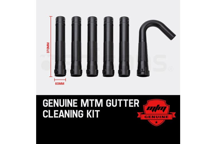 MTM Gutter Cleaning Kit for MTM Blower 30CC - Extension Adaptor Leaf