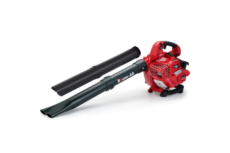 BAUMR-AG Leaf Blower Vacuum Cordless Petrol Hand Garden Lawn Held Vac 2-Stroke
