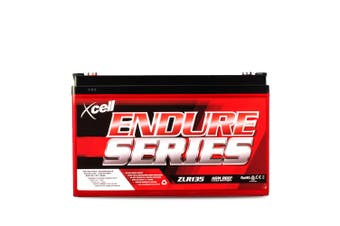 X-CELL AGM Deep Cycle Battery 12V 135Ah Portable Sealed SLA Camping Solar Marine