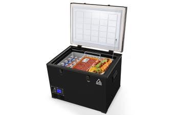 GECKO 70L Portable Fridge Freezer Camping Cooler 12V/24V/240V for Caravan Car