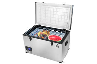 GECKO 85L Portable Fridge Freezer Camping Cooler 12V/24V/240V for Caravan Car