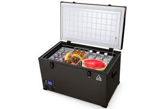 GECKO 85L Portable Fridge Freezer Cooler Camping 12V/24V/240V for Caravan Car