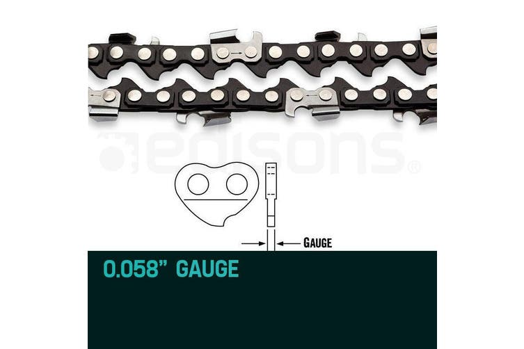2 X 18 Inch Baumr-AG Chainsaw Chain 18in Bar Replacement Suits SX45 45CC Saws