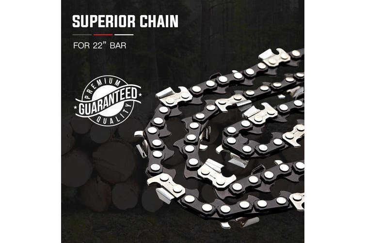 22 Inch Baumr-AG Chainsaw Chain Bar Replacement Commercial Saws 0.325 Inch 0.058 Inch 86DL