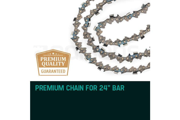 24 Inch Baumr-AG Chainsaw Chain 24in Bar Spare Part Replacement Suits 92CC Saws