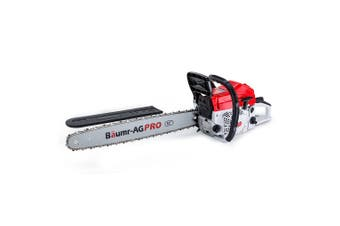 BAUMR-AG Commercial Petrol Chainsaw E-Start 22 Chain Saw Tree Pruning Top Handle